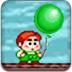 放飞彩色气球