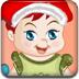 圣诞可爱小女孩