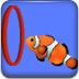 热带鱼的海底表演