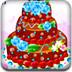 浪漫玫瑰婚礼蛋糕