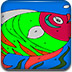 热带鱼填颜色