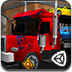 3D大卡车运输