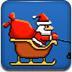 飞天的圣诞老人