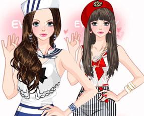 时尚海军风