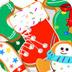 可爱圣诞节小饼干