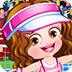 可爱宝贝的网球装