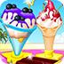 美味的夏日冰淇淋