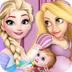 公主装饰婴儿房