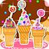 糖果蛋卷冰淇淋