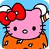 凯蒂猫雪糕填色书