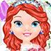 小公主试婚纱