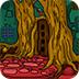 逃离神秘的树屋