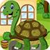 救援绿海龟