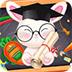 小兔奥利去上学