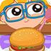 学做汉堡包