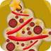 圣诞树披萨