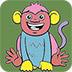 顽皮的猴子图画册